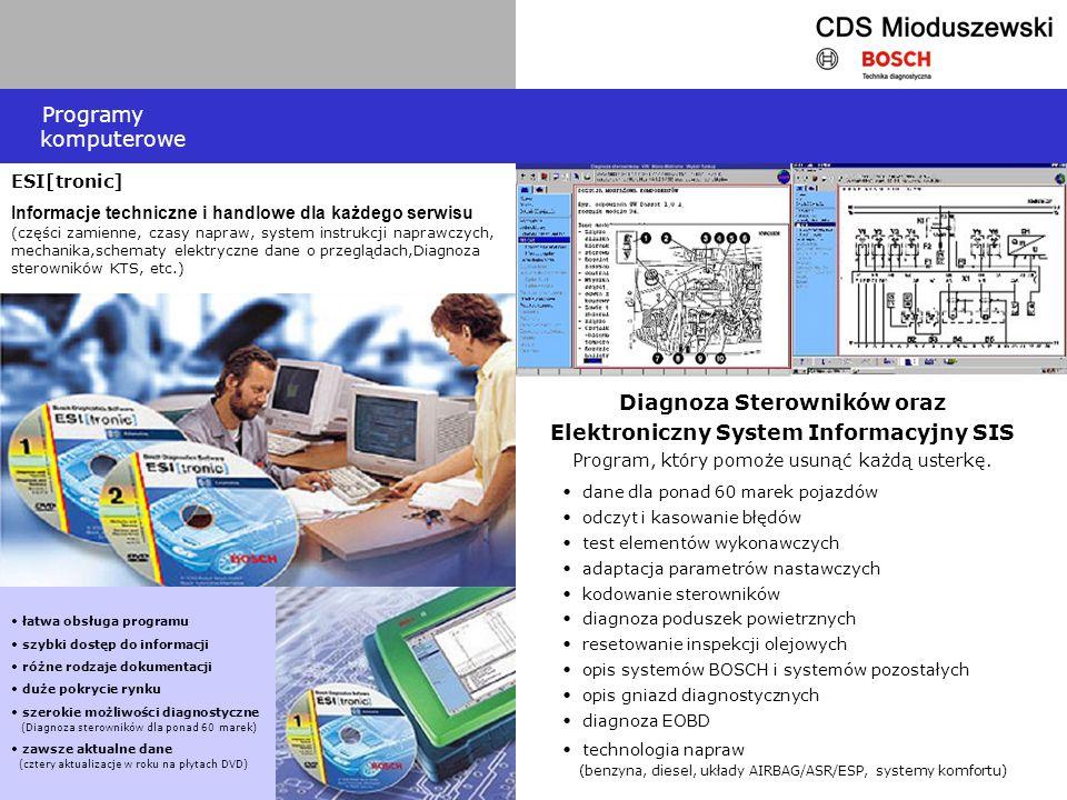 Programy komputerowe ESI[tronic]
